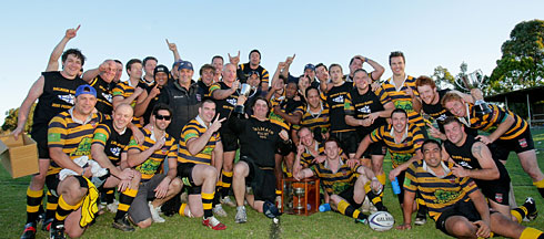 Congrats to Balmain Rugby's 1st & 2nd Grade 2010 Premiers. Oooh yeh!